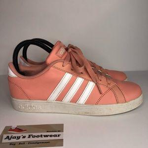 Adidas Kids Baseline Comfort Big Girl's Pink Shoes